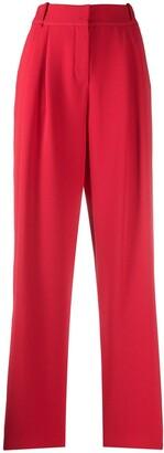 Emporio Armani Tapered Pleat Trousers