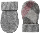 Burberry Needlepunch Mittens Extreme Cold Weather Gloves