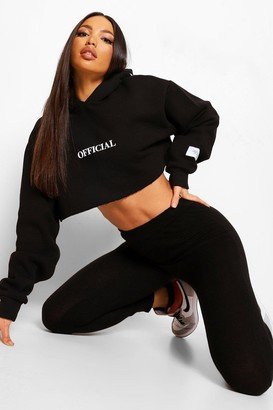 boohoo Tall Knitted Joggers