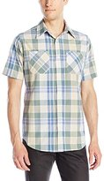 Akademiks Men's Eli Plaid Button-Front Shirt