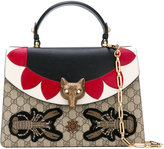 Gucci fox head shoulder bag - women - Calf Leather - One Size