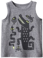 Jumping Beans Baby Boy Jumping Beans® Reptile & Amphibian Graphic Snow Nep Tank Top