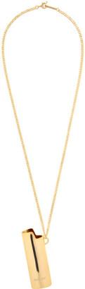 Ambush Gold Lighter Case Necklace