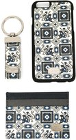Dolce & Gabbana monkey print iPhone 6 case, cardholder and keyring set - men - Calf Leather - One Size