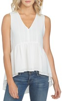 1 STATE 1.state Sleeveless High/Low Top