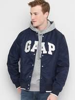 Gap Logo souvenir bomber jacket
