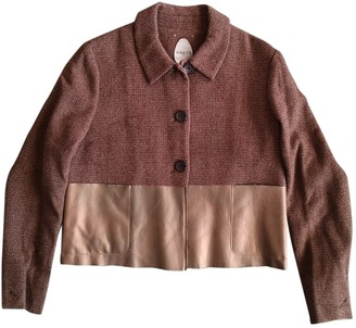 Ports 1961 Brown Wool Jacket for Women