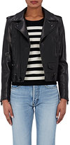 Saint Laurent Women's Leather Moto Jacket