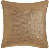 "Ann Gish Gold Glaze Pillow, 18""Sq."