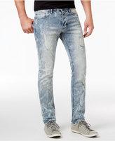 Calvin Klein Jeans Men's Slim-Fit Stretch Glacier Ripped Jeans