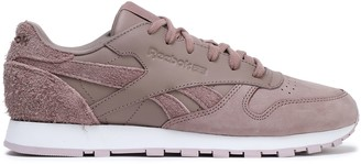 Reebok Classic Leather And Suede Sneakers