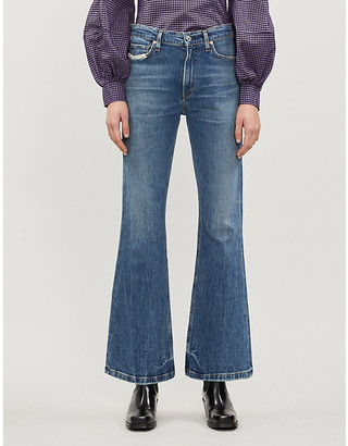 Citizens of Humanity Tailyn relaxed-fit flared mid-rise jeans