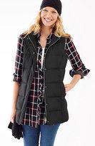 J. Jill Highland Park Long Down Puffer Vest