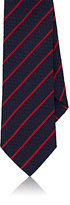 Barneys New York MEN'S STRIPED SILK JACQUARD NECKTIE