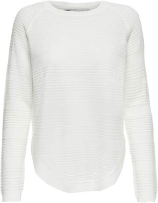 Only Ribbed Long-sleeve Pullover