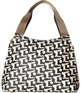 Orla Kiely Matt Laminated Baby Bunny Print Classic Zip Shoulder Bag Handbags