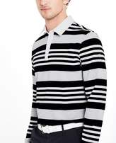 AG Jeans The Benson Stripe Polo