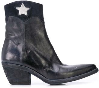 Madison.Maison Star Detail Ankle Boots