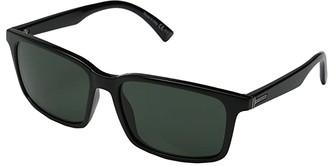 Von Zipper VonZipper Pinch (Black Gloss/Vintage Grey) Sport Sunglasses