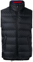 Gucci Original GG padded gilet - men - Feather Down/Polyamide/Polyester/Alpaca - 46