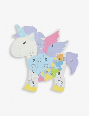 Orange Tree Toys Unicorn Number Puzzle