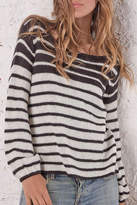 Wooden Ships Ashley Striped Crewneck