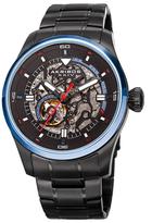 Akribos XXIV Automatic Skeleton Stainless Steel Watch, 46mm