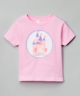 Swag Pink Castle Personalized Tee - Infant Toddler & Girls