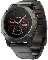 Garmin Unisex fenix® 5X Slate Gray Metal Bracelet Smart Watch 51mm