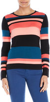 Vince Camuto Petite Striped Sweater