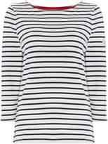 Joules Harbour Long Sleeve Stripe Jersey Tshirt