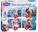 Ravensburger Disney Frozen Jigsaw Puzzle, Box of 4