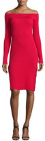 Cameo Life Is Real Off-The-Shoulder Dress, Salsa Red