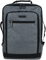 """Kenneth Cole Reaction Heathered Dual Compartment Slim Checkpoint-Friendly 17"""" Computer Business Backpack"""