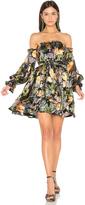 For Love & Lemons Luciana Strapless Dress