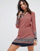 Glamorous Border Print Dress