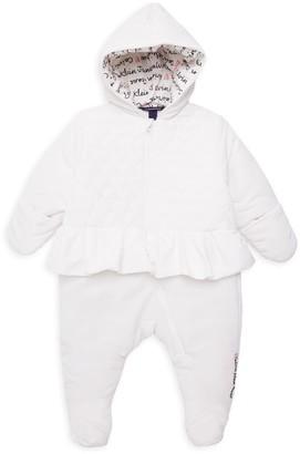 Calvin Klein Jeans Baby Girl's Ruffled Footie