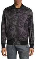Diesel Leaf Palm Bomber Jacket