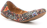 Lucky Brand Emmie Floral Print Flats