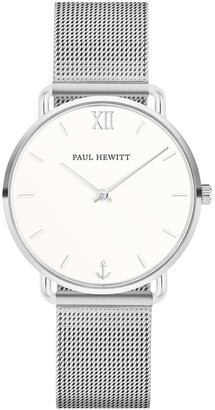 Paul Hewitt PH-M-S-W-4S Miss Ocean Line Silver Watch