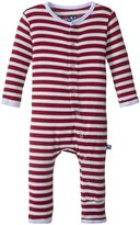 Kickee Pants Print Fitted Coverall (Baby) - Tundra Stripe - 18-24 Months