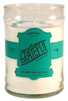 Aromatherapy Aromatheraphy Be Grateful Glass Jar Candle