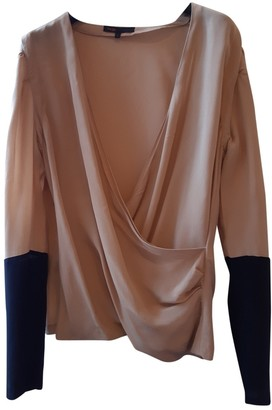 Maje Pink Silk Top for Women