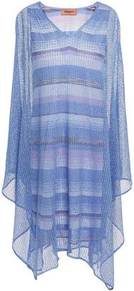 Missoni Asymmetric Crochet-knit Dress