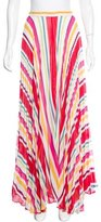 Alice + Olivia Striped Maxi Skirt