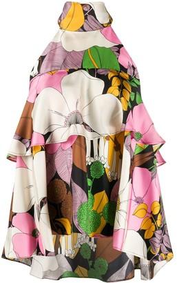 La DoubleJ Bonbon silk blouse