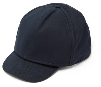 Raf Simons Doubled Cotton Cap - Mens - Dark Navy