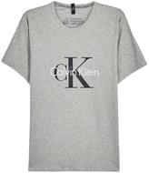 Calvin Klein Origins Grey Logo Cotton Blend T-shirt