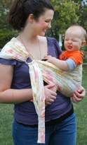 Lite-on-Shoulder Baby sling