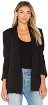 ATM Anthony Thomas Melillo Shawl Collar Boyfriend Blazer in Black